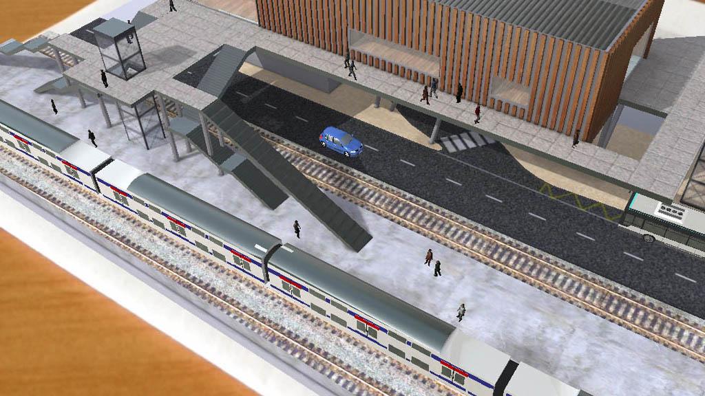 Gare de Créteil-Pompadour, <strong>Vinci Chantiers Modernes</strong>